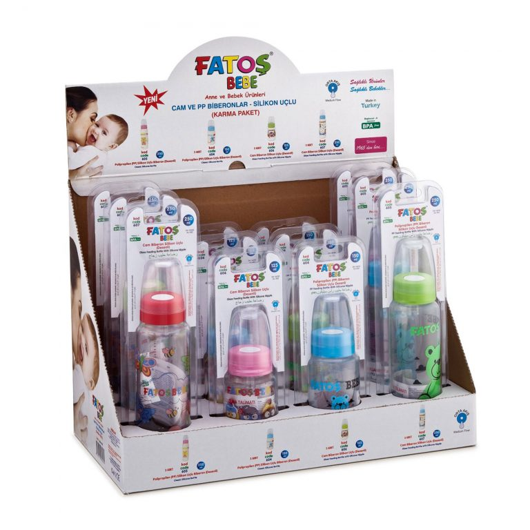 Silicone Teat Feeding Glass and PP Bottles